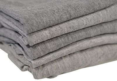 TOWEL, Knit, Grey - 5 pack