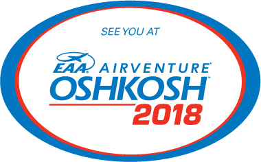 Visit us at EAA Airventure Oshkosh 2018