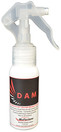 D A M Aircraft Window Cleaner