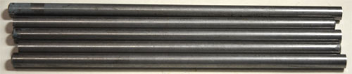 """5 piece bundle 440C Stainless Steel 3//8/"""" Round 8-16"""" each ASTM-A-276"""