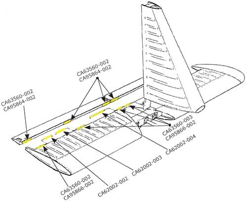 includeimages stab trim tab hinges mcfarlane aviation products faa pma replacement aircraft parts