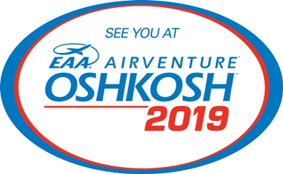Visit us at EAA Airventure Oshkosh 2019