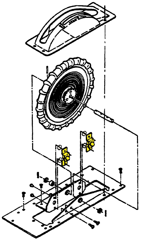 Trim Wheel Stop Catch Assemblies